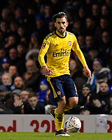 Dani Ceballos of Arsenal during Portsmouth vs Arsenal, Emirates FA Cup Football at Fratton Park on 2nd March 2020