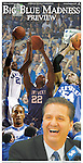 UK Basketball 2009: Big Blue Madness Poster