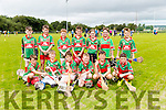 Crotta under 10's at the Tralee Parnells Hurling and Camogie blitz on Saturday at the John Mitchels complex