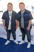 Benjamin Royer, Matthew Royer<br /> at Clayton Kershaw's Ping Pong 4 Purpose Celebrity Tournament to Benefit Kershaw's Challenge, Dodger Stadium, Los Angeles, CA 08-11-16<br /> David Edwards/DailyCeleb.com 818-249-4998