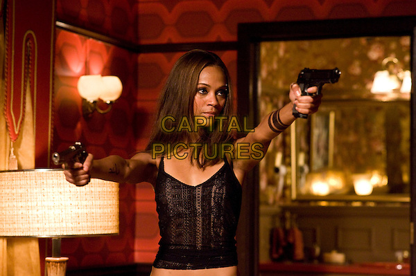 ZOE SALDANA .in The Losers.*Filmstill - Editorial Use Only*.CAP/FB.Supplied by Capital Pictures.