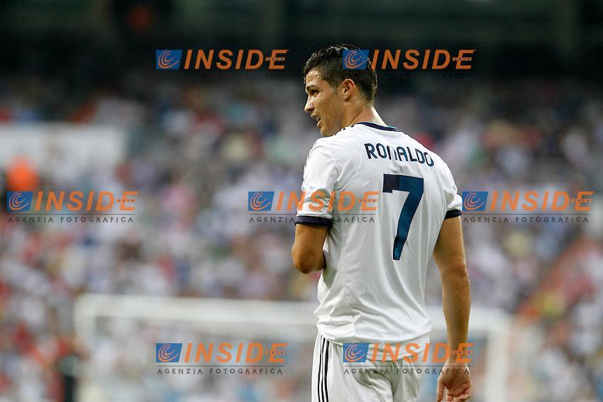Real Madrid's Cristiano Ronaldo during La Liga match.August 19,2012. (ALTERPHOTOS/Acero) .Madrid 19/8/2012 Stadio Santiago Bernabeu.Real Madrid Vs Valencia Liga 2012/2013.Foto Insidefoto