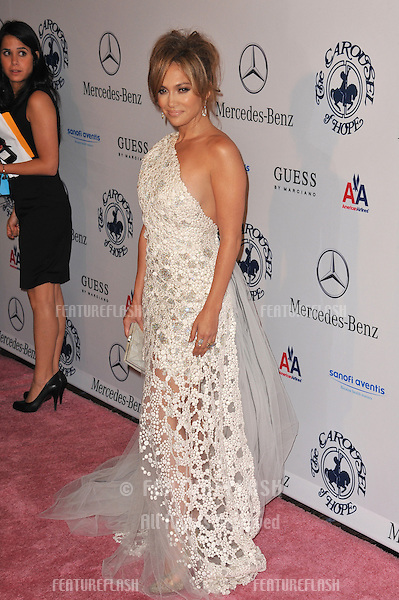 Jennifer Lopez at the 32nd Anniversary Carousel of Hope Ball, to benefit the Barbara davis Center for Childhood Diabetes, at the Beverly Hilton Hotel..October 23, 2010  Beverly Hills, CA.Picture: Paul Smith / Featureflash