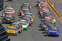 Action, Coke Zero 400, Daytona International Speedway, Daytona Beach , Florida, July 2014.  (Photo by Brian Cleary/www.bcpix.com)