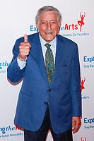 NEW YORK, NY - APRIL 12: Tony Bennett  at the Exploring the Arts 20th Anniversary Gala at Hammerstien Ballroom  on April 12, 2019 in New York City. <br /> CAP/MPI99<br /> ©MPI99/Capital Pictures