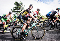Picture by Allan McKenzie/SWpix.com - 04/09/2017 - Cycling - OVO Energy Tour of Britain - Stage 2 Kielder Water to Blyth - Peloton, Lars Boom.