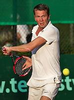 Etten-Leur, The Netherlands, August 23, 2016,  TC Etten, NVK, Patrick Loggers (NED)<br /> Photo: Tennisimages/Henk Koster