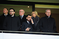 Swansea City sporting director Leon Britton with Chairman Trevor Birch during the Sky Bet Championship match between West Bromwich Albion and Swansea City at The Hawthorns in Birmingham, England, UK. Sunday 08 December 2019