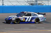 Apr 17, 2009; Avondale, AZ, USA; NASCAR Sprint Cup Series driver David Gilliland during practice for the Subway Fresh Fit 500 at Phoenix International Raceway. Mandatory Credit: Mark J. Rebilas-