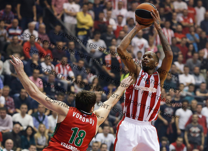 Crvena Zvezda Telekom Belgrade V Lokomotiv Kuban Krasnodar Turkish Airlines Euroleague Starsport Photo Service