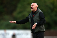 Hornchurch manager Mark Stimson during Hornchurch vs Margate, BetVictor League Premier Division Football at Hornchurch Stadium on 13th August 2019