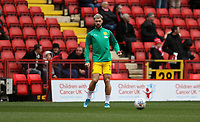 Charlie Austin of West Bromwich Albion warming up during Charlton Athletic vs West Bromwich Albion, Sky Bet EFL Championship Football at The Valley on 11th January 2020