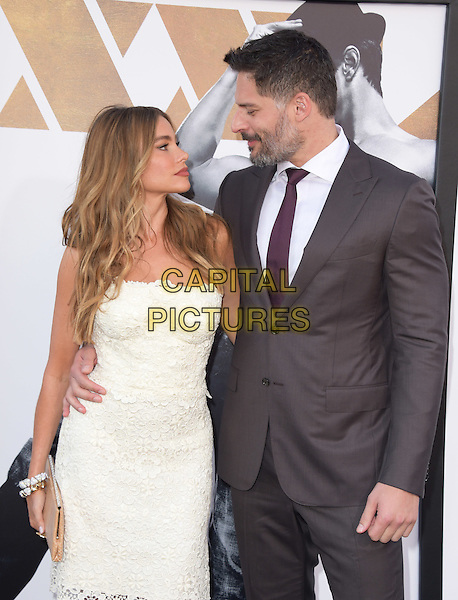 Sofia Vergara and Joe Manganiello attends The Warner Bros. Pictures' L.A. Premiere of Magic Mike XXL held at The TCL Chinese Theatre  in Hollywood, California on June 25,2015  <br /> CAP/DVS<br /> &copy;DVS/Capital Pictures
