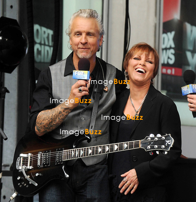 "Pat Benatar at ""FOX & FRIENDS"" All American Concert Series New York City. New York, June 29, 2012..."