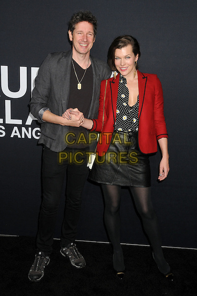 10 February 2016 - Los Angeles, California - Paul W. S. Anderson, Milla Jovovich. Saint Laurent At The Palladium held at the Hollywood Palladium. <br /> CAP/ADM/BP<br /> &copy;BP/ADM/Capital Pictures