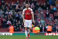 Sead Kolasinac of Arsenal after Arsenal vs Southampton, Premier League Football at the Emirates Stadium on 24th February 2019