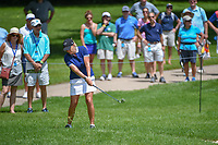 Cristie Kerr (USA) chips on to 10 during round 1 of the 2018 KPMG Women's PGA Championship, Kemper Lakes Golf Club, at Kildeer, Illinois, USA. 6/28/2018.<br /> Picture: Golffile | Ken Murray<br /> <br /> All photo usage must carry mandatory copyright credit (&copy; Golffile | Ken Murray)