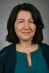 Raffaella Settimi, Associate Dean, College of Computing and Digital Media, DePaul University, is pictured in a studio portrait Friday, May 26, 2017. (DePaul University/Jeff Carrion)