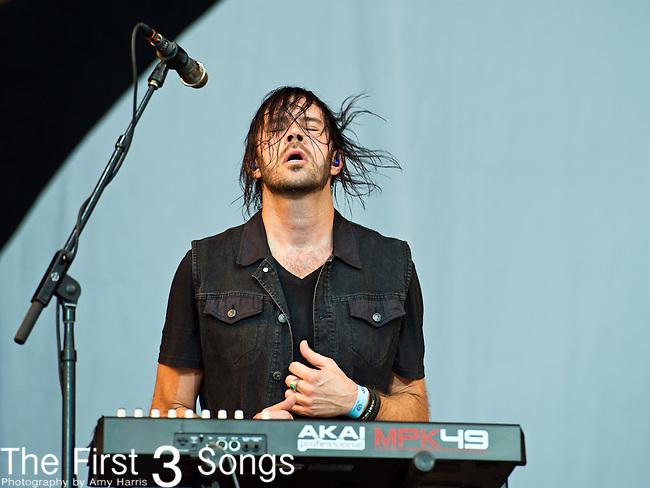 Ryan Walker of Imagine Dragons performs during the 2013 Budweiser Made in America Festival in Philadelphia, Pennsylvania.