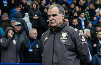 Leeds United's manager Marcelo Bielsa <br /> <br /> Photographer Andrew Kearns/CameraSport<br /> <br /> The EFL Sky Bet Championship - Sheffield Wednesday v Leeds United - Saturday 26th October 2019 - Hillsborough - Sheffield<br /> <br /> World Copyright © 2019 CameraSport. All rights reserved. 43 Linden Ave. Countesthorpe. Leicester. England. LE8 5PG - Tel: +44 (0) 116 277 4147 - admin@camerasport.com - www.camerasport.com