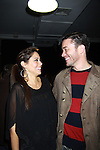 One Life To Live Jessica Leccia and Tom Pelphrey at ICNY (Imperial Court of New York): Daytime Meets Nighttime Cabaret benefitting LifeBeat: Music Fights HIV and Jan Hus Neighborhood Church, two organizations giving back to the community at November 4, 2011 at the Jan Hus Playhouse Theatre, New York City, New York. (Photo by Sue Coflin/Max Photos)