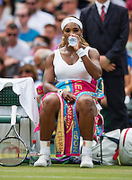 England, London, 26.06.2014. Tennis, Wimbledon, AELTC, Serena Williams (USA)<br /> Photo: Tennisimages/Henk Koster