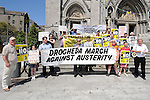 Austerity march in West street. Photo: Colin Bell/pressphotos.ie