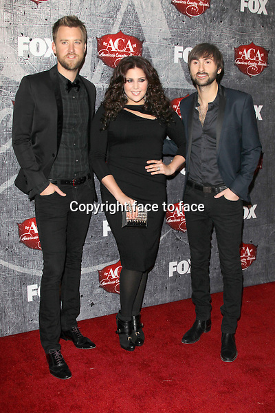 Lady Antebellum at the 2012 American Country Awards at the Mandalay Bay Events Center in Las Vegas, Nevada, 10.12.2012...Credit: MediaPunch/face to face..- Germany, Austria, Switzerland, Eastern Europe, Australia, UK, USA, Taiwan, Singapore, China, Malaysia and Thailand rights only -