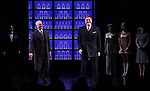John Dossett and Douglas Sills and cast during the Broadway opening night performance curtain call for 'War Paint' at the Nederlander Theatre on April 6, 2017 in New York City
