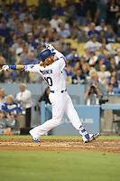 08/16/17 Los Angeles, CA : Los Angeles Dodgers third baseman Justin Turner #10 during an MLB game between the Los Angeles Dodgers and the Chicago White Sox played at Dodger Stadium.