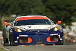 08 August 2008: The Tafel Racing Ferrari 430 GT, driven by Dominik Farnbacher (DEU) and Dirk Mueller (DEU) at the Generac 500  at Road America, Elkhart Lake, Wisconsin, USA.