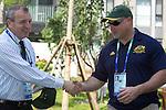 Australian Team Flag Bearer ceremony, Paralympic Village, September 5 2008.