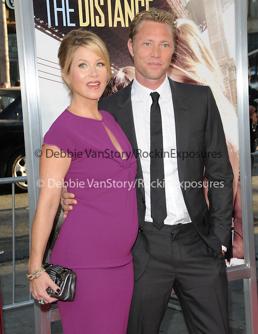 Christina Applegate & Martyn Lenoble at the Warner Bros. Pictures' L.A. Premiere of Going the Distance held at The Grauman's Chinese Theatre in Hollywood, California on August 23,2010                                                                               © 2010 Hollywood Press Agency