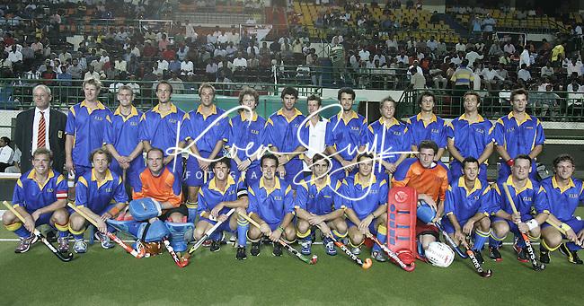 CHENNAI 2005 : Worldteam, wereldelftal, wereldteam hockey,