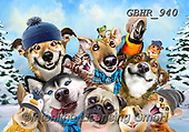 Howard, REALISTIC ANIMALS, REALISTISCHE TIERE, ANIMALES REALISTICOS, paintings+++++,GBHR940,#a#, EVERYDAY ,selfies