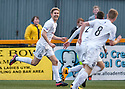 Ayr Utd's Neil McGregor celebrates after he scores Ayr's second goal.