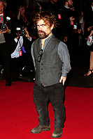 www.acepixs.com<br /> <br /> October 15 2017, London<br /> <br /> Peter Dinklage arriving at the UK Premiere of 'Three Billboards Outside Ebbing, Missouri' during the closing night gala of the 61st BFI London Film Festival at the Odeon Leicester Square on October 15, 2017 in London, England. <br /> <br /> By Line: Famous/ACE Pictures<br /> <br /> <br /> ACE Pictures Inc<br /> Tel: 6467670430<br /> Email: info@acepixs.com<br /> www.acepixs.com
