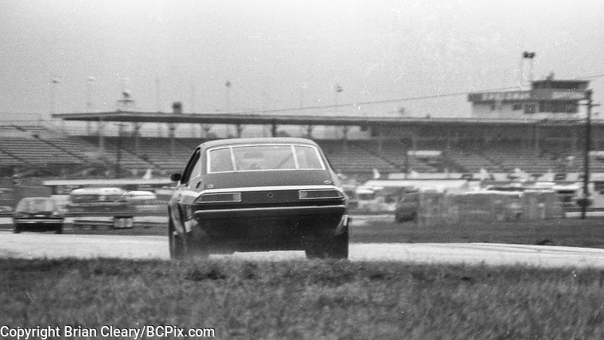 Cars compete in the Radial Challenge support race before the1978 24 Hours of Daytona, Daytona International Speedway, Daytona Beach, FL, February 5, 1978.  (Photo by Brian Cleary/www.bcpix.com)