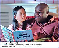 Melodie Lapierre  Didier Lucien dans<br /> Pure Laine<br /> <br /> Editorial Only - for media use only<br /> Pour usage media (editorial)  Uniquement<br /> <br /> (c) Tele Quebec