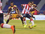 Barranquilla- Junior venció a Deportes Tolima un gol por cero, en el partido correspondiente a la décima primera fecha del Torneo Clausura 2014, desarrollado en el estadio Metropolitano Roberto Meléndez, el 24 de septiembre.