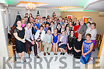 A huge turn out to wish Mary Corcoran(seated front centre) farewell after 49 years of service at St Annes Hospital in Cahersiveen pictured here in the Ring of Kerry Hotel on Friday night last with colleagues, friends and family.