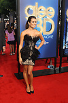 "LEA MICHELE. World premiere of Twentieth Century Fox' ""Glee The 3D Concert Movie,"" at the Regency Village Theater in Westwood.  Los Angeles, CA USA. August 6, 2011. ©CelphImage"