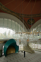 The Sakirin Mosque in Uskudar, Istanbul. Newly built in May 2009, architect xxxxx, interior designer Zeynep xxxxxxxxxxx