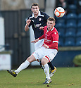 Raith's David Smith clears from Deveronvale's Connor Rennie ...