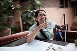 INDIA, KERALA JUNE 2014:<br /> Students having a coffee break in kanthari campus, June 2014 @Giulio Di Sturco