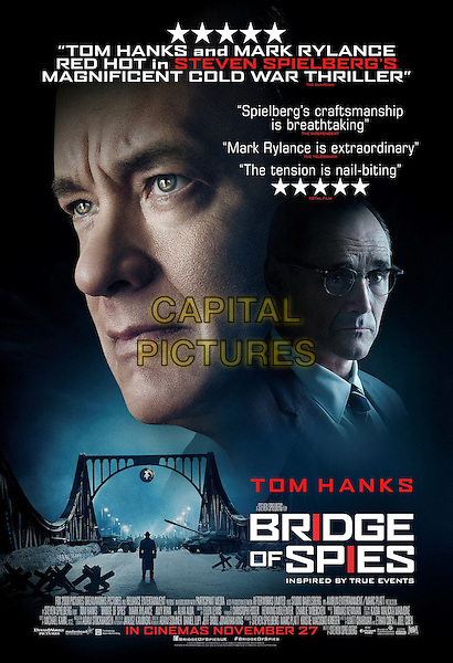 Bridge of Spies (2015) <br /> POSTER ART<br /> *Filmstill - Editorial Use Only*<br /> CAP/KFS<br /> Image supplied by Capital Pictures
