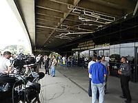 ATENÇÃO EDITOR: FOTO EMBARGADA PARA VEÍCULOS INTERNACIONAIS. – SÃO PAULO - SP – 05 DE NOVEMBRO 2012 –  JULGAMENTO DO CASO CORONEL UBIRATAN no Fórum Ministro Mário Guimarães  – CARLA CEPOLINO. FOTO: MAURICIO CAMARGO / BRAZIL PHOTO PRESS.