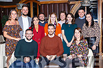 David Cummins Loreto Road Killarney celebrated his 30th birthday with his family and friends in the Plaza Hotel Killarney on Sunday night