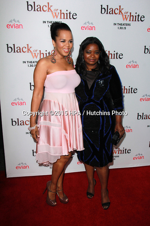 """LOS ANGELES - JAN 20:  Paula Newsome, Octavia Spencer at the """"Black Or White"""" Los Angeles Premiere at a Regal Cinemas on January 20, 2015 in Los Angeles, CA"""