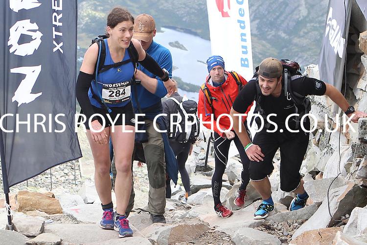 Race number  284 - Hilde Vigdis Larsen - - Sunday Norseman Xtreme Tri 2012 - Norway - photo by chris royle / boxingheaven@gmail.com